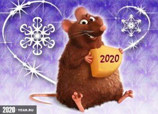 Крыса символ 2020 года