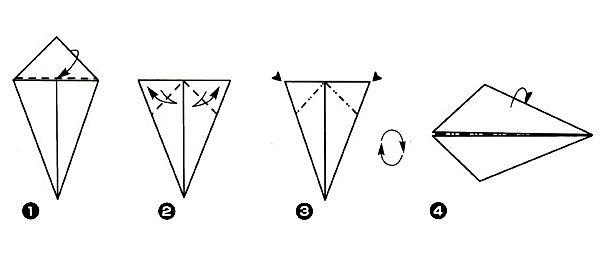 Бумажная крыса оригами