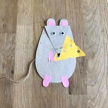 Крыса с сыром
