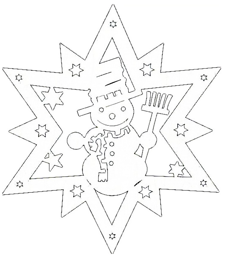 вырезать новогодние картинки из бумаги схемы шаблоны распечатать сода